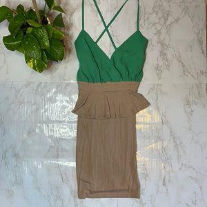 Lulus - Peplum Bodycon Dress